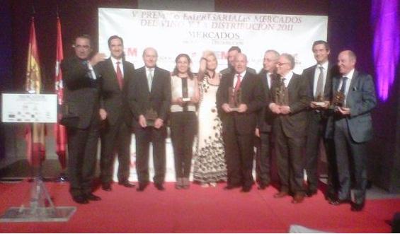 La PTV recibe el premio 'Mercados del Vino y la Distribución' a la 'Mejor Gestión en I+D+i'