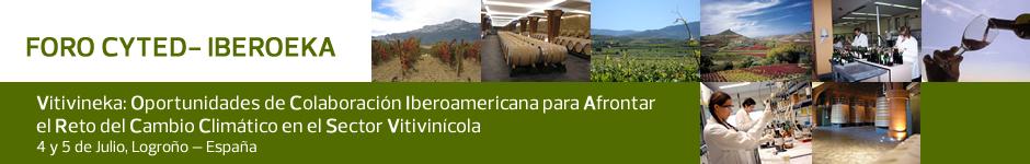 """CELERBADO EL FORO CYTED-IBEROEKA: VITIVINEKA 2013 : """"Oportunidades de Colaboración Iberoamerica para Afrontar el Reto del Cambio Climático en el Sector Vitivinícola"""