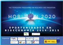 'Horizon 2020: Oportunidades en Bioeconomía 2014-2015'