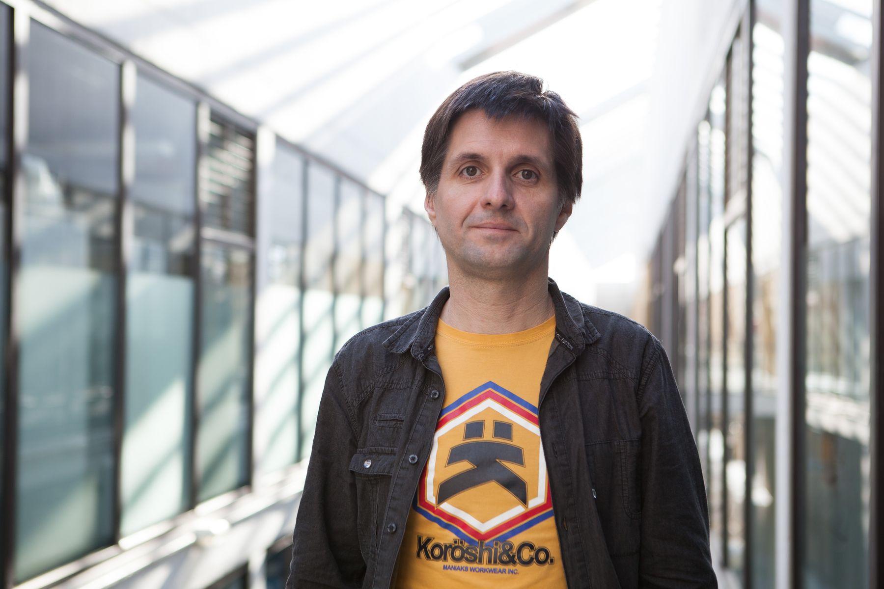 Gonzaga Santesteban, profesor titular en el Departamento de Producción Agraria de la Universidad Pública de Navarra.
