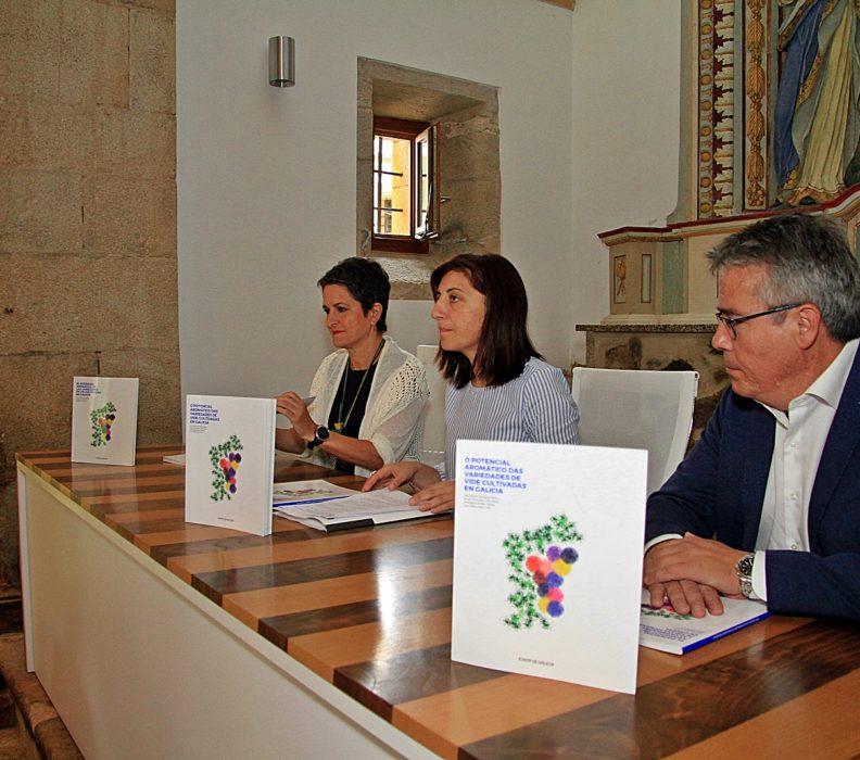 """Premiado por la OIV el libro """"El potencial aromatico de las variedades de vid cultivadas en Galicia"""""""
