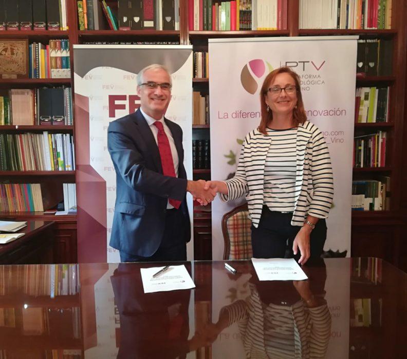 Firmado el acuerdo marco entre la FEV y la PTV