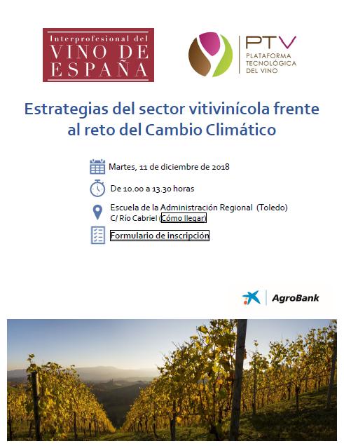 El sector del vino se dará cita en Toledo para afrontar el reto del Cambio Climático