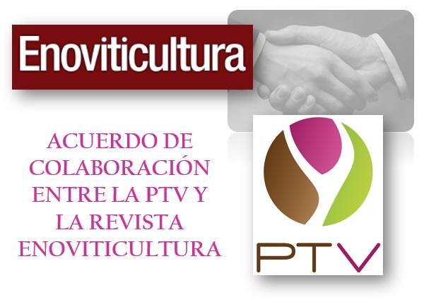 La revista Enoviticultura y la PTV firman acuerdo de colaboración