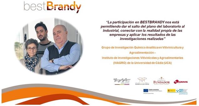 Entrevista a Dominico A. Guillen Sánchez, catedrático de Química analítica y miembro del IVAGRO de la Universidad de Cádiz sobre el proyecto bestBrandy
