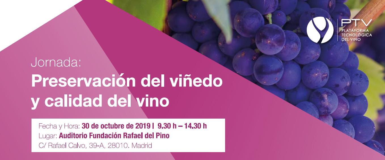 """La PTV reúne al sector del vino para afrontar el reto de la """"Preservación del viñedo y calidad del vino"""""""
