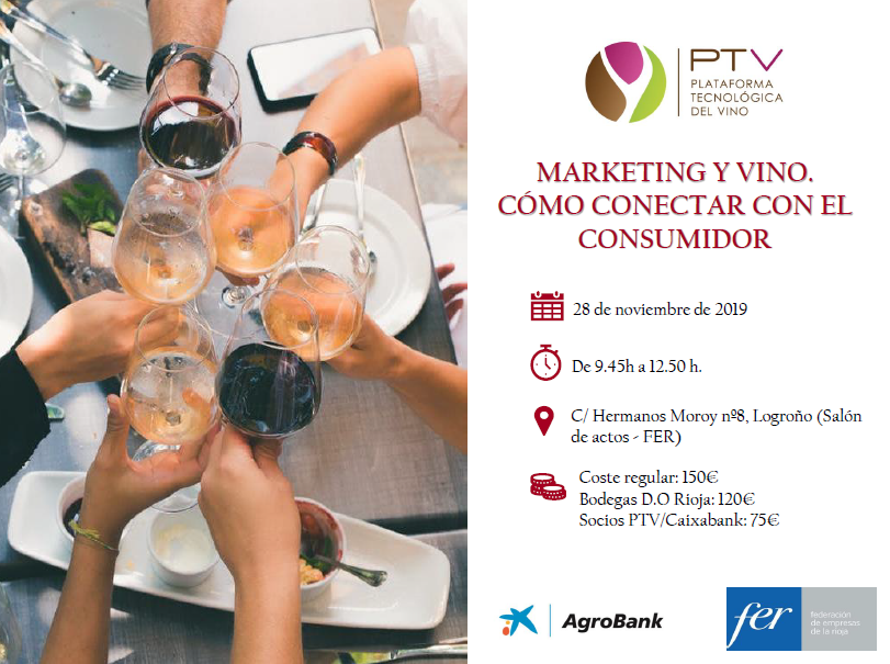 """Seminario Técnico """"Marketing y Vino. Cómo conectar con el consumidor"""" impartido por Juan Park el próximo 28 de noviembre"""
