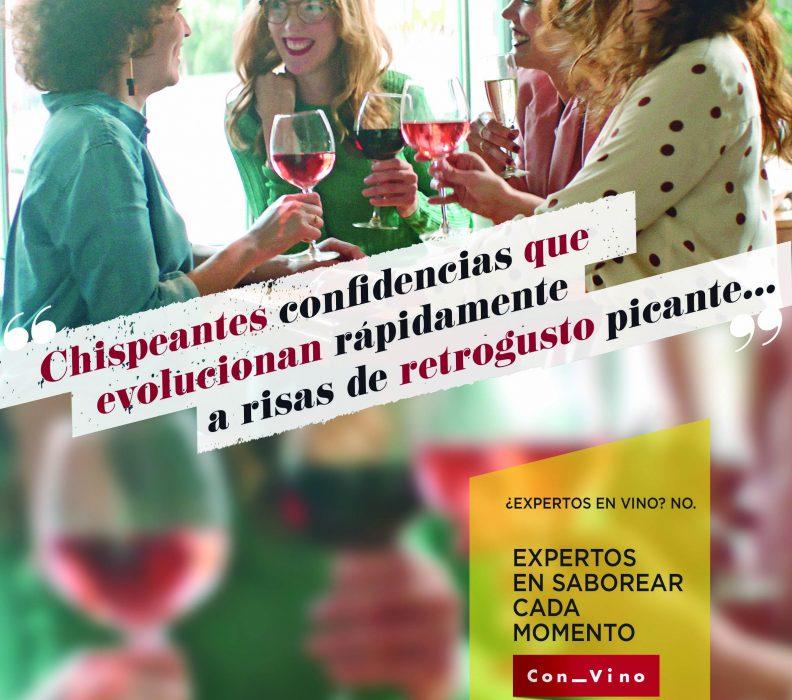 Arranca la nueva campaña publicitaria de la Organización Interprofesional del Vino de España