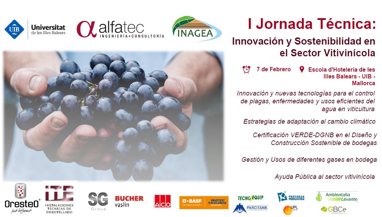 Jornada Técnica: Innovación y Sostenibilidad en el Sector Vitivinícola