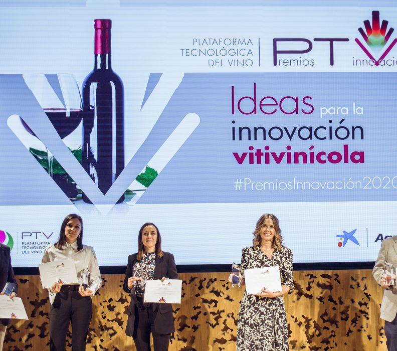 """Entregados los """"Premios PTV de Innovación"""" en reconocimiento a la I+D+i del sector del vino"""