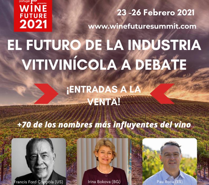 Abiertas las inscripciones al Wine Future 2021. El futuro de la industria vitivinícola a debate