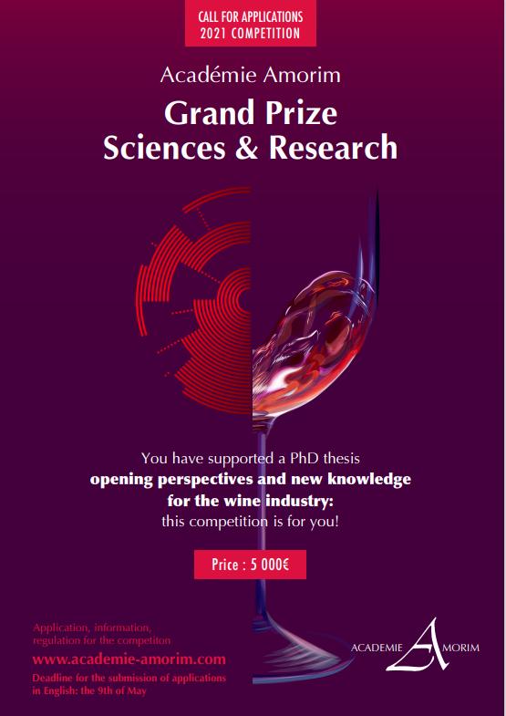"""Convocado el """"Premio Ciencias e Investigación 2021"""" de Amorim"""