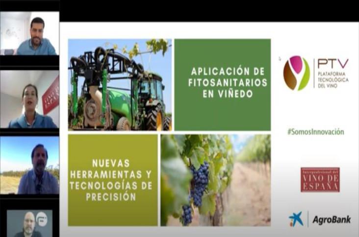 """Webinar """"Aplicación de fitosanitarios en viñedo: nuevas herramientas y tecnologías de precisión"""" – Vídeo completo"""