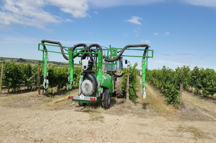 Viñas del Vero consigue un ahorro del 30% en costes de tratamientos fitosanitarios con la tecnología H3O