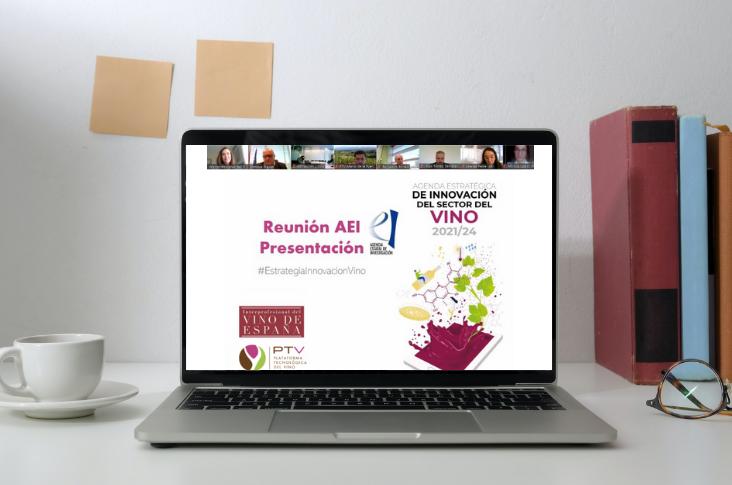 OIVE y PTV presentan la Agenda Estratégica de Innovación del sector del Vino ante el Ministerio de Ciencia e Innovación