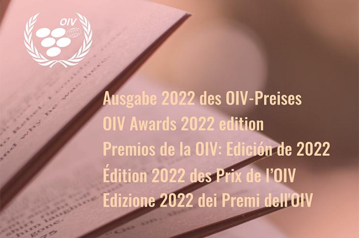 Abiertas las inscripciones para los Premios de la OIV 2022
